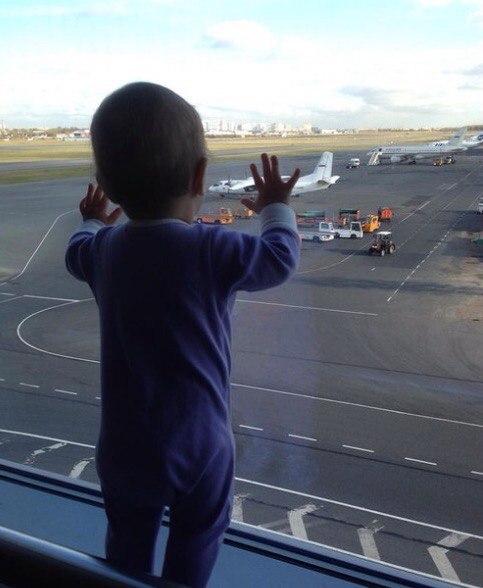 تصویر دروغین از حادثه سقوط هواپیمای روسی‼️