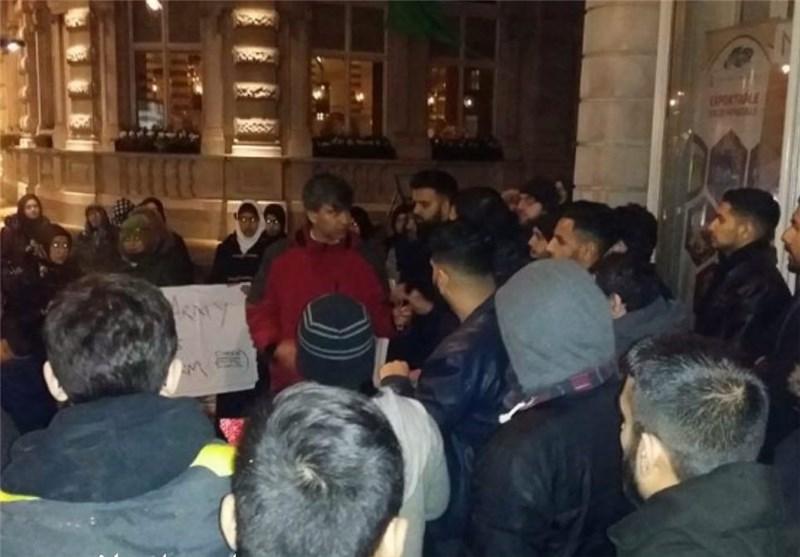 تجمع مردم لندن در اعتراض به کشتار مسلمانان نیجریه+تصاویر