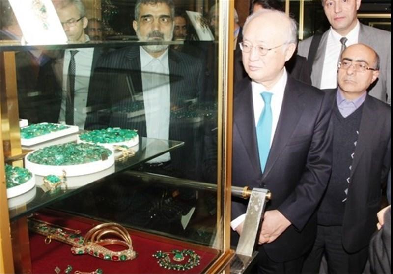 آمانو : خزانه جواهرات ملی ایران بینظیر است