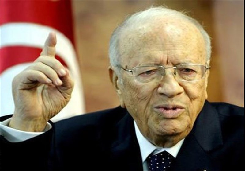 رئیس جمهور تونس : دستهای خارجی اعتراضات را شعلهور کرده است