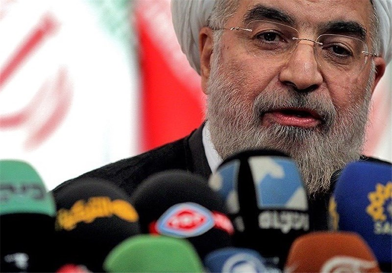 گفتوگوی تلویزیونی روحانی با مردم بلافاصله پس از قرائت بیانیه اجرای برجام