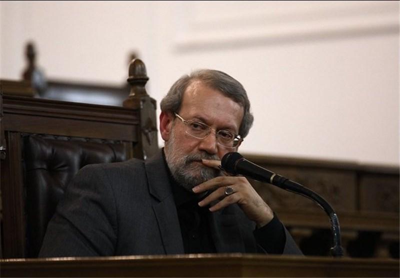 درخواست لاریجانی از دولت برای ارائه لایحه بودجه دو دوازدهم