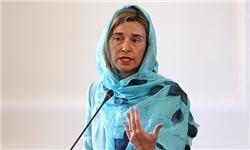 موگرینی: در اجرای برجام کارمان تمام نشده/آزمایشهای موشکی ایران نقض برجام نیست