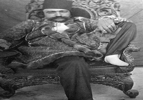 عکسی جالب از ناصرالدین شاه
