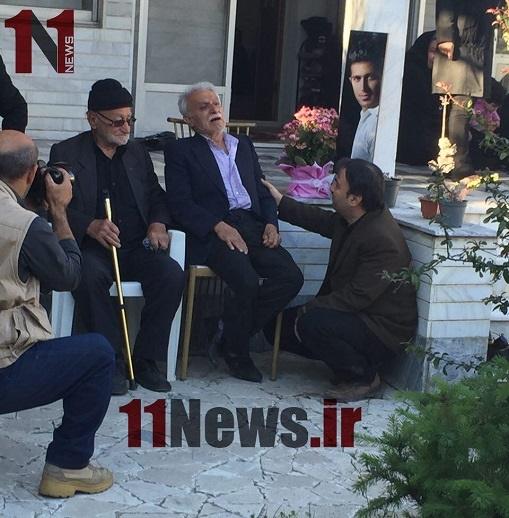 پدر اولادی پس از شنیدن خبر فوتش+عکس