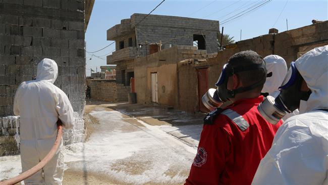 حمله داعش با سلاح شیمیایی به سوریه