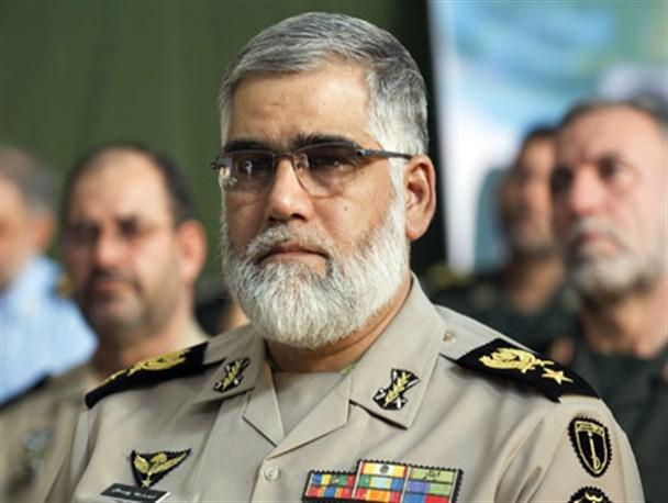 فرمانده نیروی زمینی ارتش:یک گروه داعش وارد کشور شده بود
