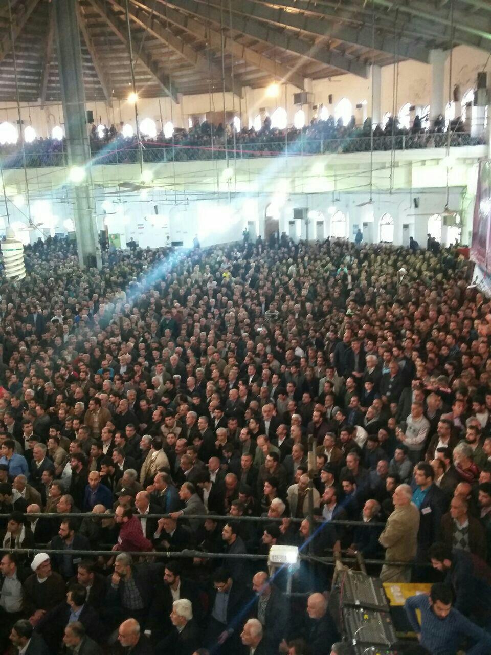 ویدئوی دیدنی از حضور احمدی نژاد در خیل عظیم مردم مازندران + فیلم