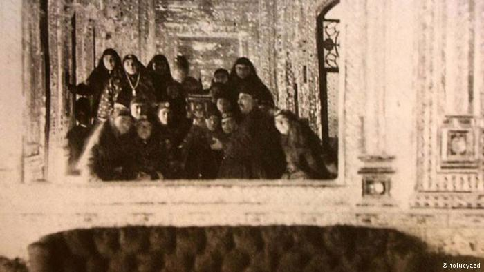 اولین سلفی دنیا که توسط ناصرالدین به ثبت رسید/ عکس