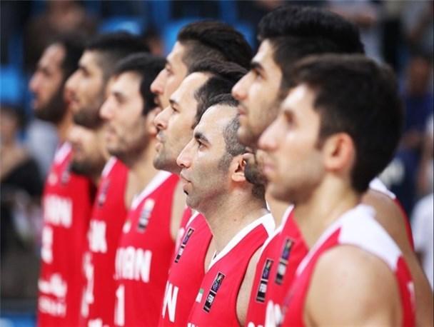 برد شیرین ملی پوشان بسکتبال ایران