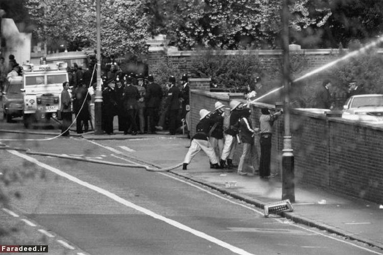 عکس های دیده نشده از اشغال سفارت ایران در لندن