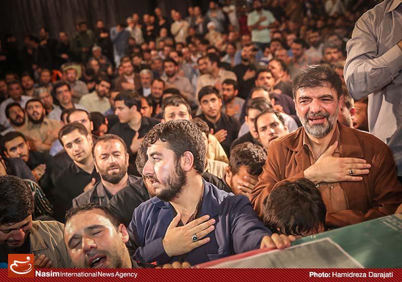 عکس های مراسم وداع با پیکر شهید حاج حسن اکبری