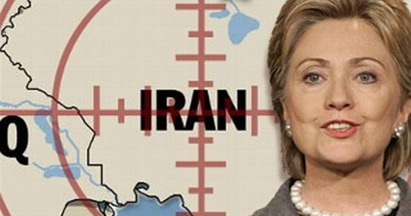 هیلاری کلینتون : من با زور ایران را پای میز مذاکره نشاندم!