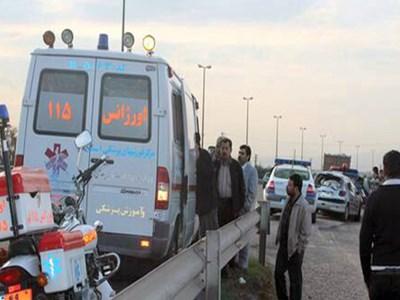 تصادف شدید در بزرگراه نطنز- اصفهان