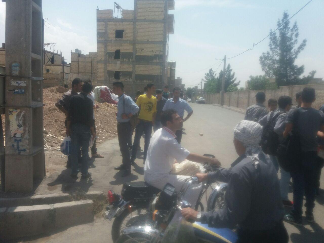 قتل دانش آموز رباط کریمی به صورت یکهویی در خیابان! + عکس