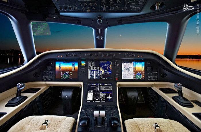 عکسهای هواپیمای شخصی ۲۰ میلیون دلاری جکی چان