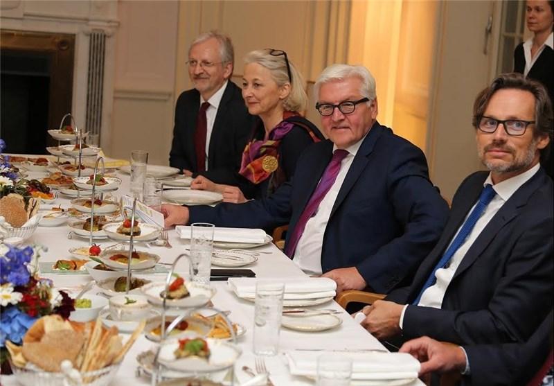دیدار و افطاری وزیر خارجه آلمان برای ظریف + عکس
