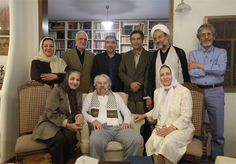 عیادت مدیران رسانه ملی از داوود رشیدی + عکس
