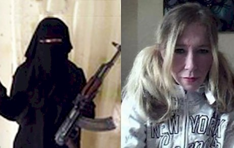 خواننده زن داعشی شد! + عکس