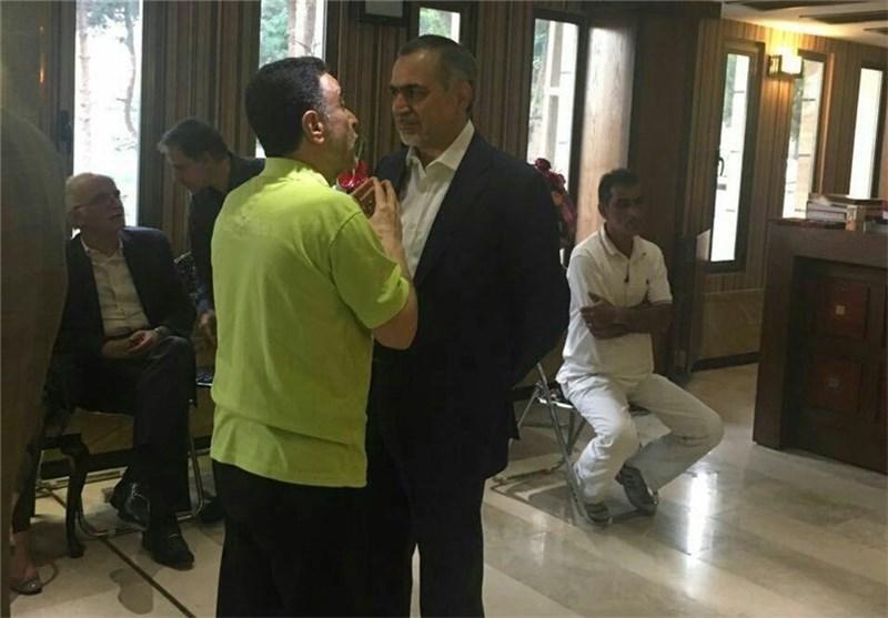 دیدار حسینفریدون با محکومامنیتی اتفاقی بوده است!