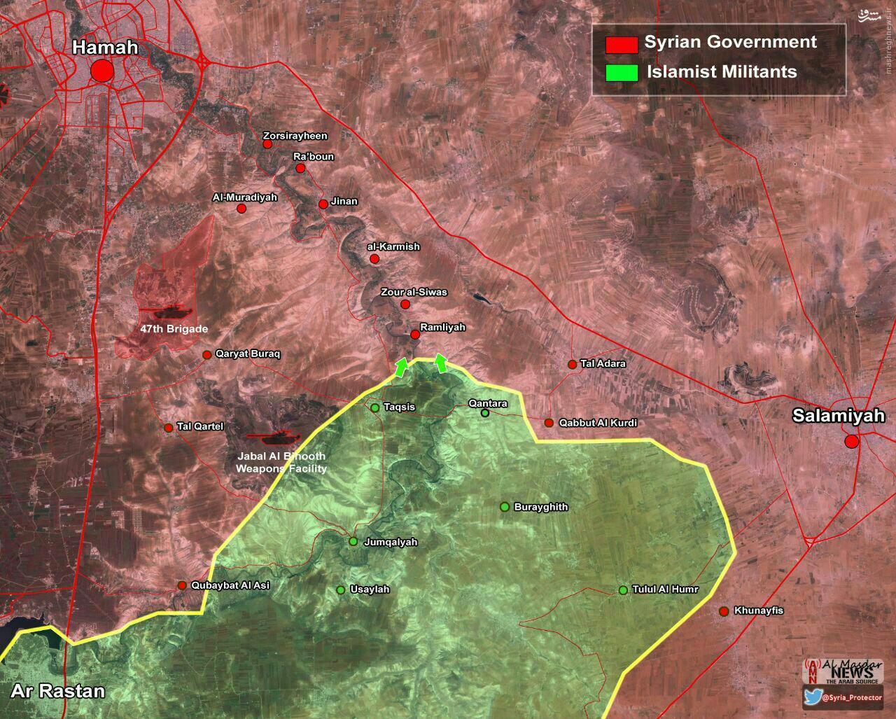 فرمانده ارشد القاعده در حماه به هلاکت رسید + عکس