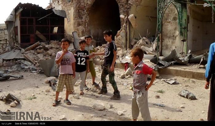 شهر محاصره شده فوعه در بحران به سر می برد + عکس