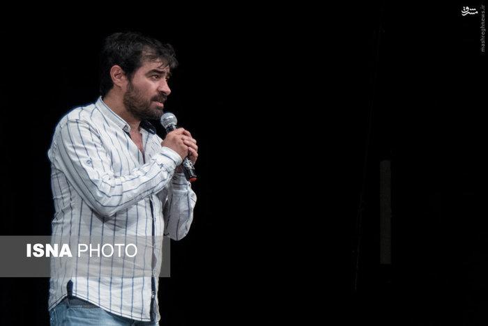 شهاب حسینی در مراسم گلریزان آزادی زندانیان + عکس