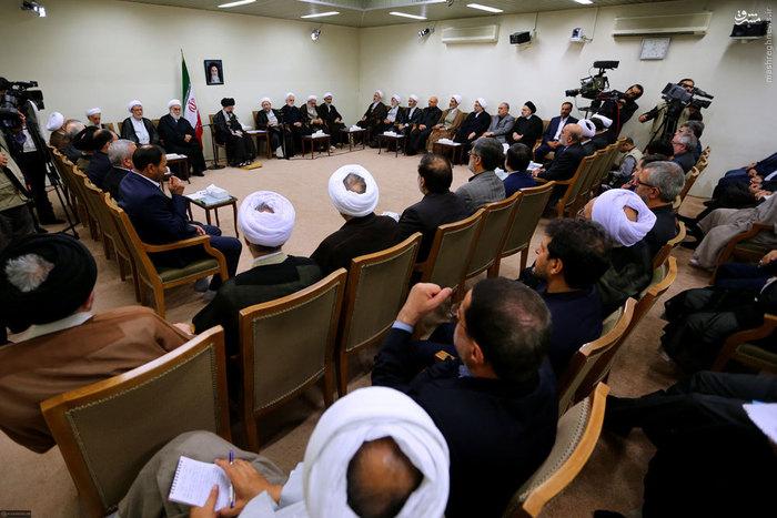 دیدار رئیس و مسئولان قوهی قضائیه با رهبر انقلاب اسلامی