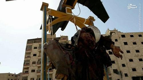 انتشار تصاویر سقوط جنگنده بمب افکن ارتش سوریه