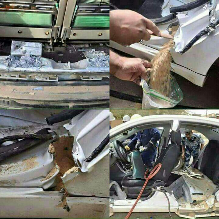 کشف خودروهای بمب گذاری شده در کربلا + عکس
