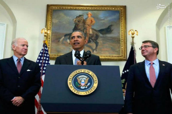 آمریکا از فروپاشی نهایی داعش جلوگیری می کند