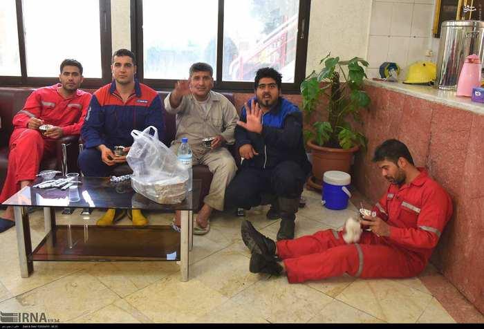 آتش سوزی در پتروشیمی بوعلی ماهشهر پایان یافت + عکس