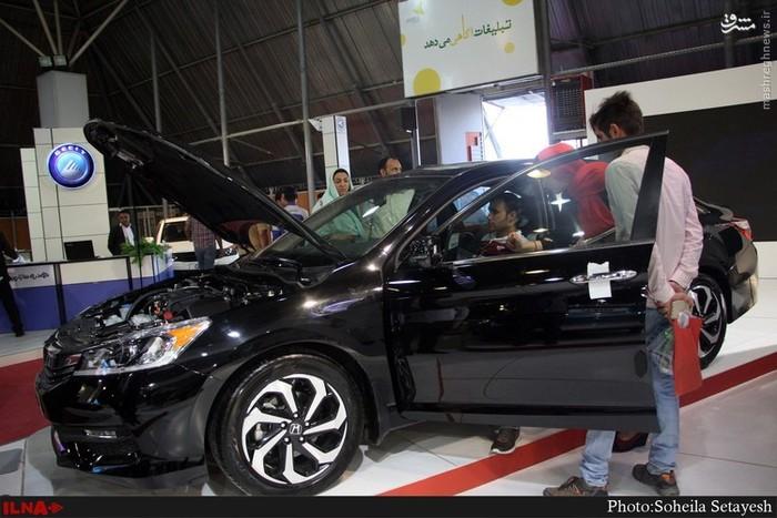 پانزدهمین نمایشگاه بین المللی خودرو شیراز + عکس