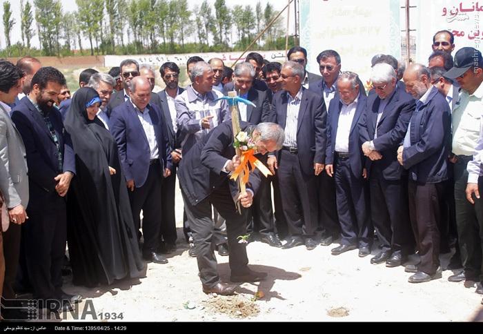 وزیر کار در تبریز + عکس