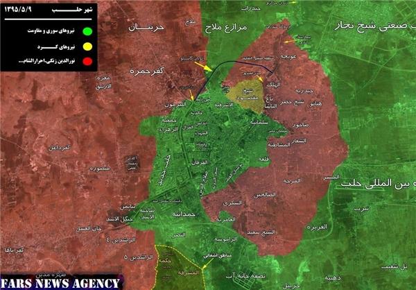 عملیات «حماسه بزرگ حلب» تروریستها در شهر حلب