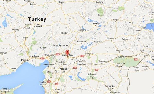 انفجار در مراسم عروسی در غازی عنتاب ترکیه و کشته شدن 51 نفر