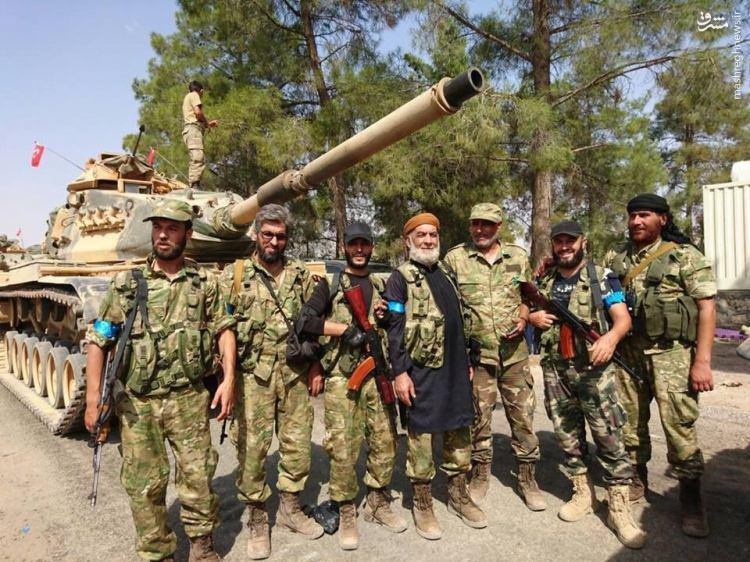 سوریه عملیات نظامی ترکیه در شهر جرابلس را محکوم کرد