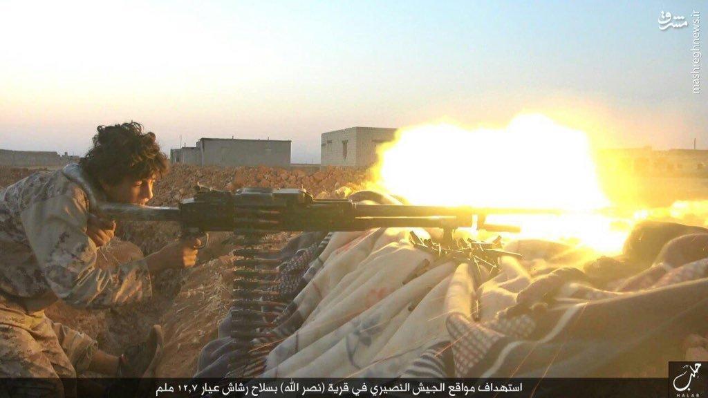 حملات داعش به فرودگاه نظامی کویرس علیه ارتش سوریه + عکس