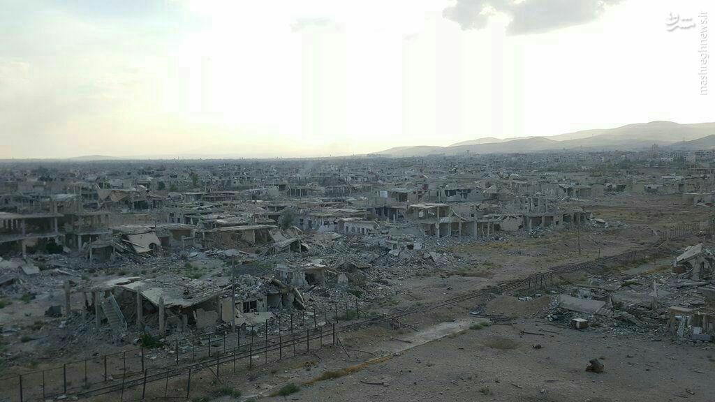 اجرای قریب الوقوع طرح آشتی ملی در منطقه داریا شهر دمشق