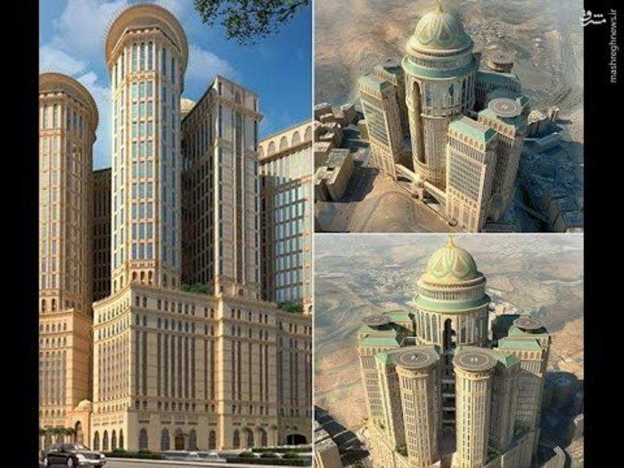 بزرگترین هتل جهان در مکه افتتاح شد + عکس