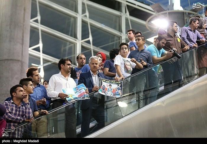 تیمملی کشتی آزاد از المپیک ریو ۲۰۱۶ به کشور بازگشت +عکس