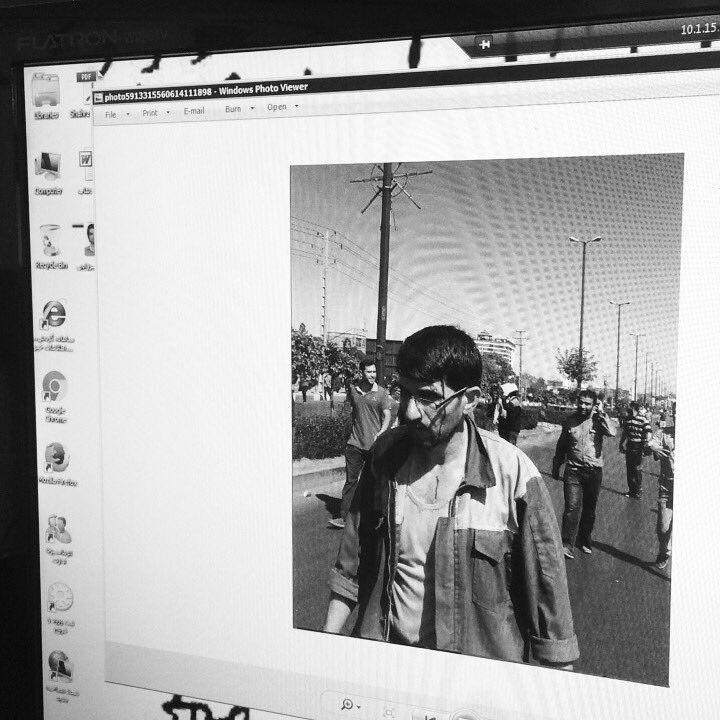 فیلم:تجمع کارگران آذرآب اراک